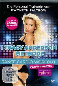 DVD DIE TRACY ANDERSON METHODE Dance Cardio Workout für Fortgeschrittene  NEU