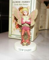 FLOWER FAIRIES CICELY MARY BARKER YEW FAIRY SERIES VIII WITH BOX
