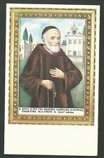 Estampa del Siervo Rosario andachtsbild santino holy card santini