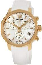 Tissot Women's T0954173711700 Quickster 42mm MOP Dial Leather Watch