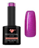 922 VB Line Begonia Purple Metallic - UV/LED nail gel polish - super quality
