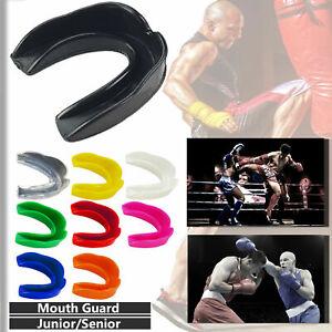 K Star Boxing Rubber Senior & Junior Gum Shield Mouth Guard Teeth Protector MMA