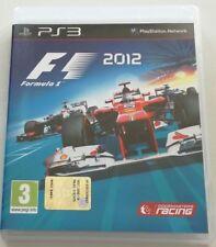 FORMULA 1 2012 F1 GIOCO PS3 PLAYSTATION 3 ITALIANO OTTIMO SPED GRATIS + ACQUISTI