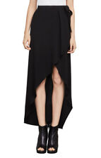BCBG MAX AZRIA New Women's Roxy Asymmetrical Wrap Skirt  Style#LMQ3G574-00SZ  L