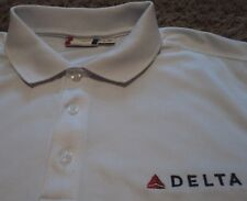 NEW ~ Men's ~ Delta Airlines ~ Embroidered Widget ~ Polo Golf Shirt XL NWOT