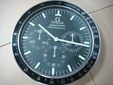 OMEGA Home Decor - 34cm Display Black Wall Clock #c