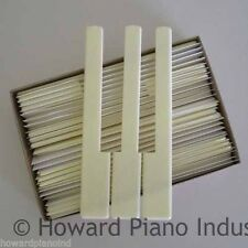 Piano Keytops - Simulated Ivory for replacing key top - Short Head