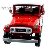MOTORMAX 79323 TOYOTA FJ40 FJ 40 LAND CRUISER 1/24 DIECAST MODEL CAR RED