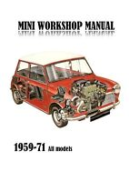 Austin Morris  Mini Repair Manual Workshop repair and diagnostics 1959-1971