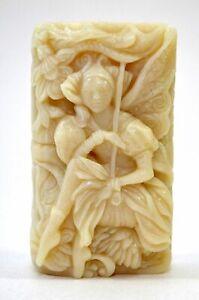 FAIRY SILICONE MOLD soap wax resin plaster clay bath BOMB