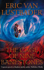 The Cage of Nine Banestones (Pearl Saga), Good Condition Book, Lustbader, Eric V
