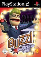PS2 / Sony Playstation 2 Spiel - Buzz!: Das große Quiz nur Software mit OVP