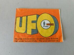 U.F.O SHADO  Century 21 Monty Gum Dutch Wrapper From 1970