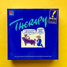 Therapy MB Brettspiel 1995 + OVP Box Anleitung KARTEN 2. Edition NEU Spiel 90 er