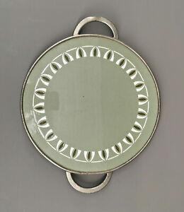 99845665 Keramik-Tortenplatte Villeroy & Boch Dresden um 1905 Jugendstil D26cm