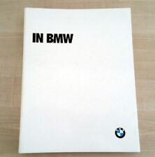 Libro In BMW - Ufficiale BMW Italia 1992 Italiano