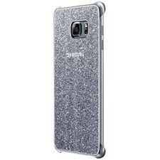 Samsung Custodia Originale Glitter Cover Case Argento per Galaxy S6 Edge Plus