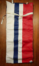 1980's Ralph Lauren Polo Exercise Beach Yoga Mat Vinyl Foam Red White Blue Flag