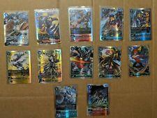Digimon Card Game 2020 BT1 Complete Set - Super Rare SEC Holo Omegamon