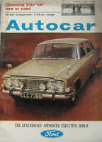 Autocar magazine 5/3/1965 featuring Vauxhall Victor road test, Sunbeam Tiger