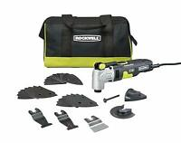 Rockwell RK5142K Universal Fit Sonicrafter F50 Oscillating Tool 33-Piece