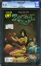 ZOMBIE TRAMP #1 MAIN COVER - CGC 9.8 - FIRST PRINT - RARE IN HIGH GRADE