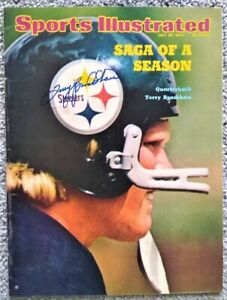 Terry Bradshaw Autographed Sports Illustrated Cover - Pittsburgh Steelers