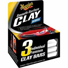 Meguiars Smooth Surface Quik Clay Bars 3x50g G1117
