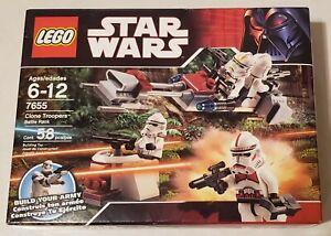 Lego Star Wars Episode III Clone Troopers Battle Pack (7655)