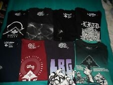 LRG Lifted Research Group T-Shirt Bundle/Lot/Collection (Size Medium)