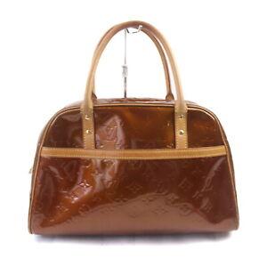 Louis Vuitton LV Hand Bag M91103 Tompkins Square Bronze Vernis 1534042