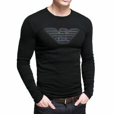 ARMANI Long Sleeve Graphic Tees for Men