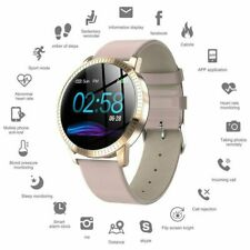 Smart Watch Waterproof Fitness Tracker Blood Pressure Heart Rate Tempered Mirror