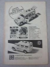 ADVERTISING PUBBLICITA' speciale MEBETOYS CROCE ROSSA nuova, accurata   - 1970