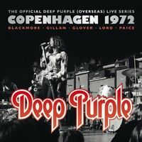 DEEP PURPLE - COPENHAGEN 1972 3 VINYL LP NEW!