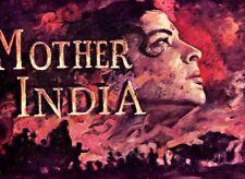 MOTHER INDIA (1957) PRESS BOOK BOLLYWOOD  NARGIS SUNIL DUTT RAAJ KUMAR ART WORK