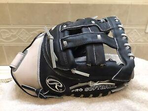 "Rawlings Silverback SBFB2 13.5"" Fastpitch Softball First Base Mitt Right Throw"
