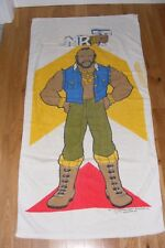 Vintage 1980s Mr.T/B.A. Baracus/Clubber Lang (Rocky III) Large Beach Towel Fool!