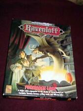 TSR Advanced Dungeons & Dragons : RAVENLOFT - Forbidden Lore boxed set (SLD CONT
