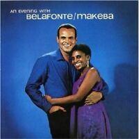 """H.BELAFONTE & M.MAKEBA """"AN EVENING WITH..."""" CD NEW+"""