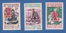 Mauritania rifugiati refugee social 1962 MNH 2OG 1senza gomma without gum signed