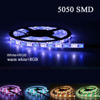 RGB RGBW 5050 SMD Waterproof LED lights Strip 5050 3528SMD 1m 2m 3m 4m 5m DC12V