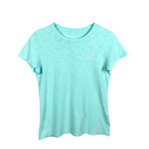 Vineyard Vines Womens Whale T Shirt Size XS Green Cotton Short Sleeve Crew Neck