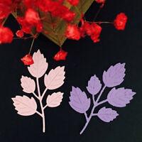 Metal Leaf Cutting Dies Stencil For DIY Scrapbooking Embossing Paper Card Craft
