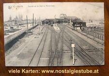 Eisenbahn & Bahnhof Ansichtskarten aus Belgien
