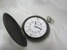 *MH270* Junghans Savonette Taschenuhr für Blinde Sehbehinderte