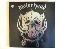 MOTORHEAD MOTORHEAD LP NEW REPRESS COLOR VINYL CHROME IMAGE COVER LEMMY