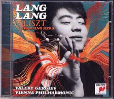 Lang Lang: Liszt My piano Hero concerto pianoforte 1 Gergiev CD Hungarian Rhapsody 郎朗