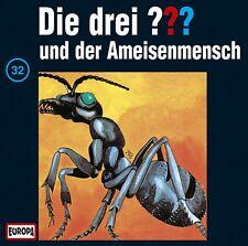 CD * DIE DREI ??? (FRAGEZEICHEN) - 32 - UND DER AMEISENMENSCH # NEU OVP =