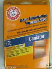 Hepa Filter Arm & Hammer GE CANISTER Vacuum Filter 63588 VC396